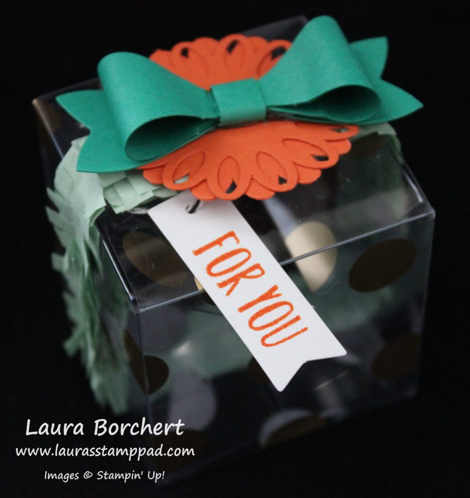 Bow Box, www.LaurasStampPad.com