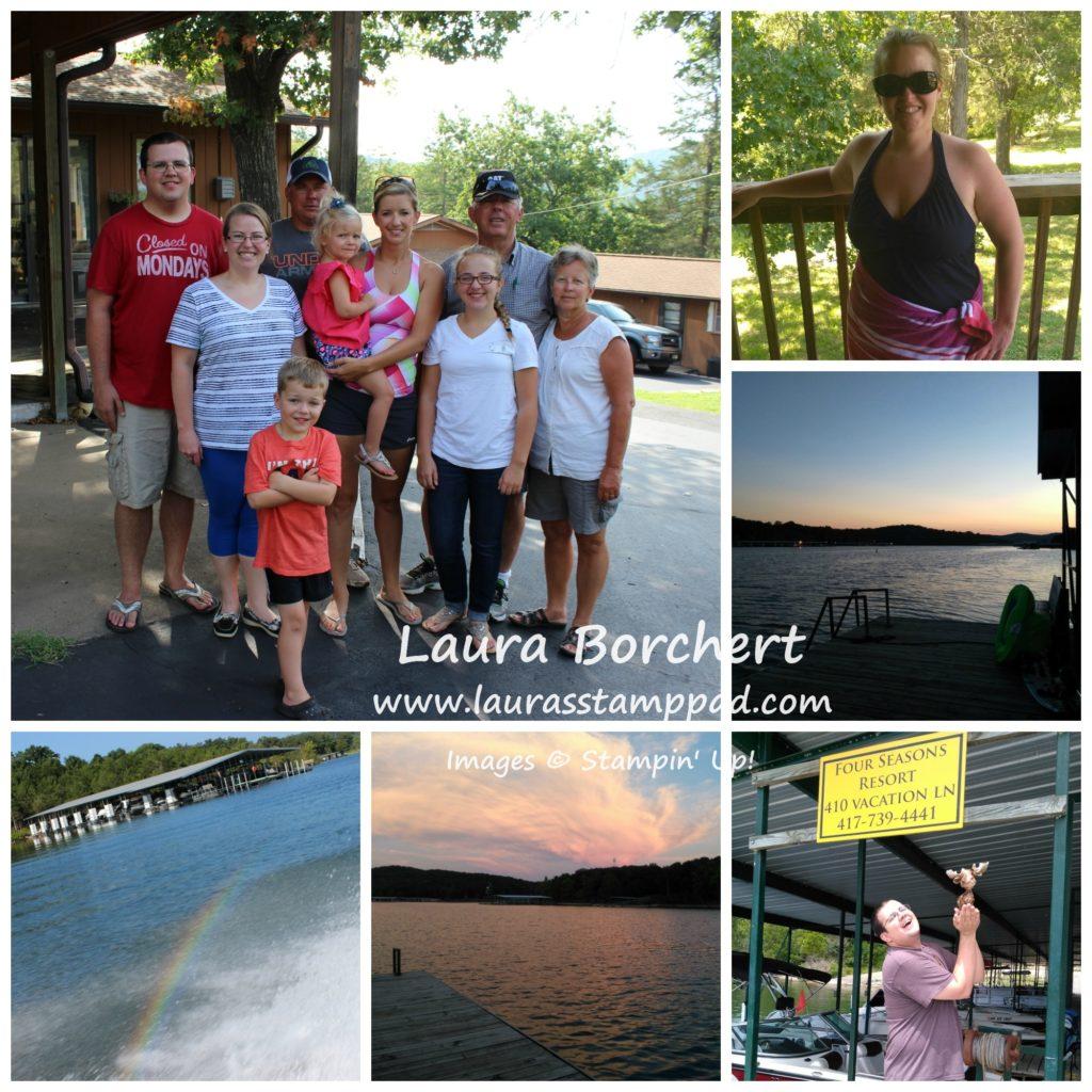 Family Vacation, www.LaurasStampPad.com