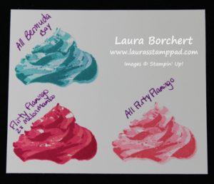 Ombre Icing, www.LaurasStampPad.com