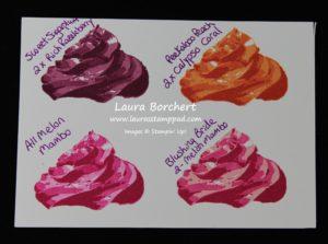 Cupcake Icing, www.LaurasStampPad.com