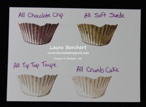Cupcake Liners, www.LaurasStampPad.com