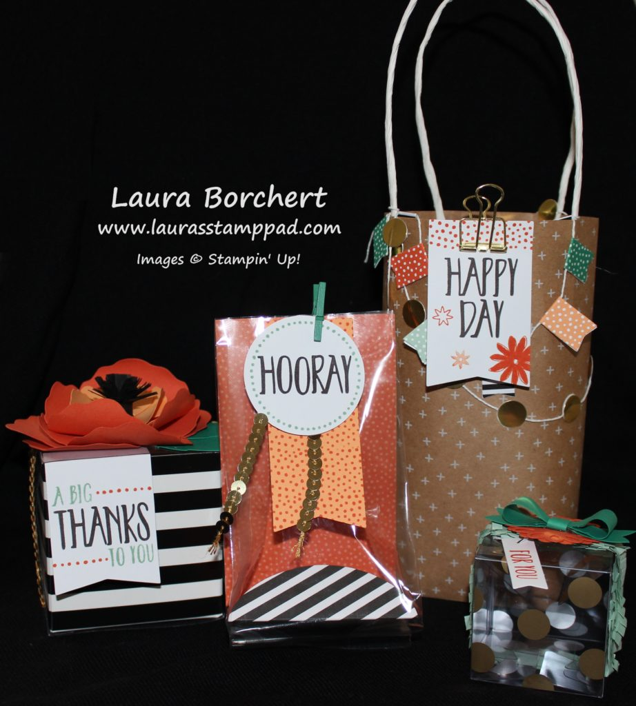 Perfectly Wrapped Kit, www.LaurasStampPad.com