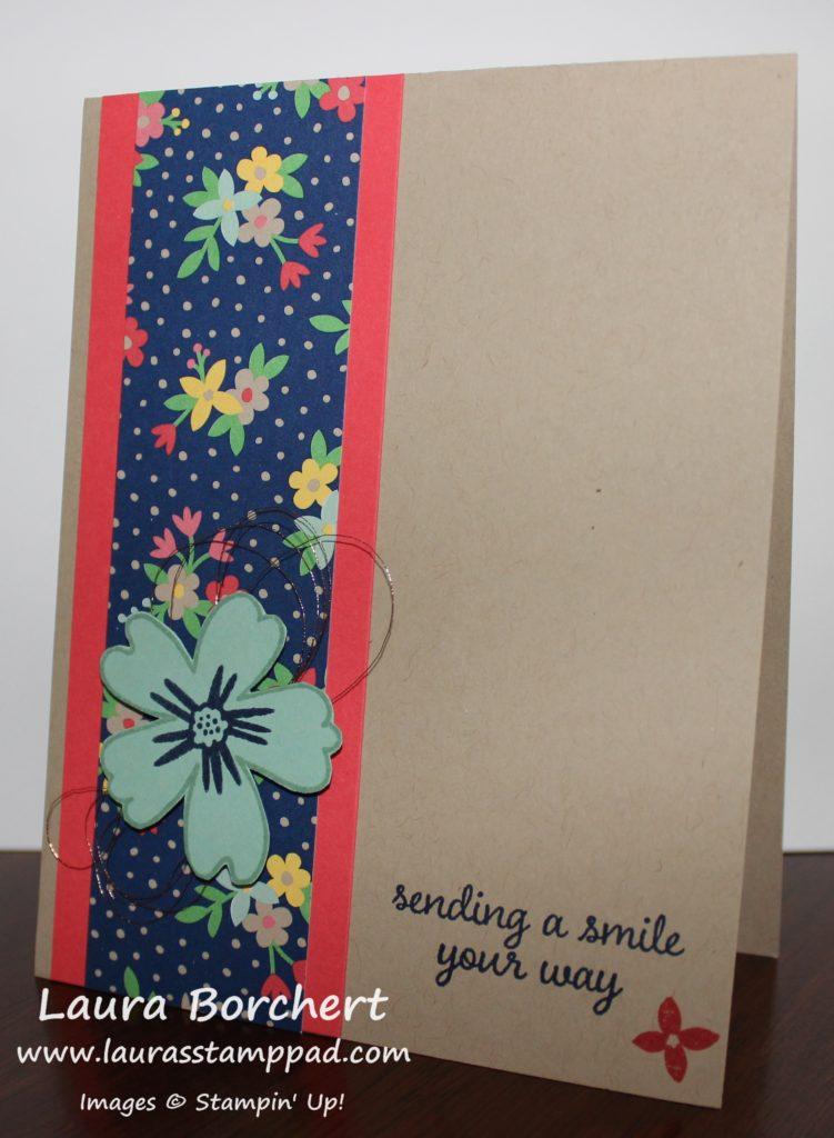 Sending a Smile, www.LaurasStampPad.com