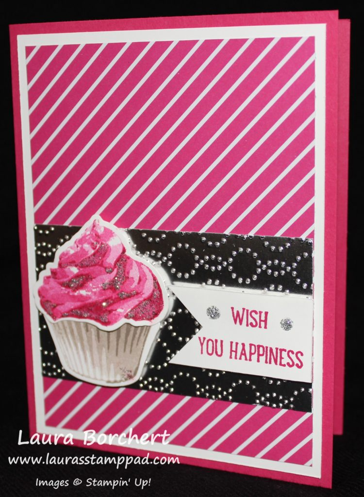 Wish You Happiness, www.LaurasStampPad.com
