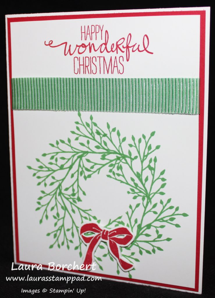 Wonderful Christmas, www.LaurasStampPad.com
