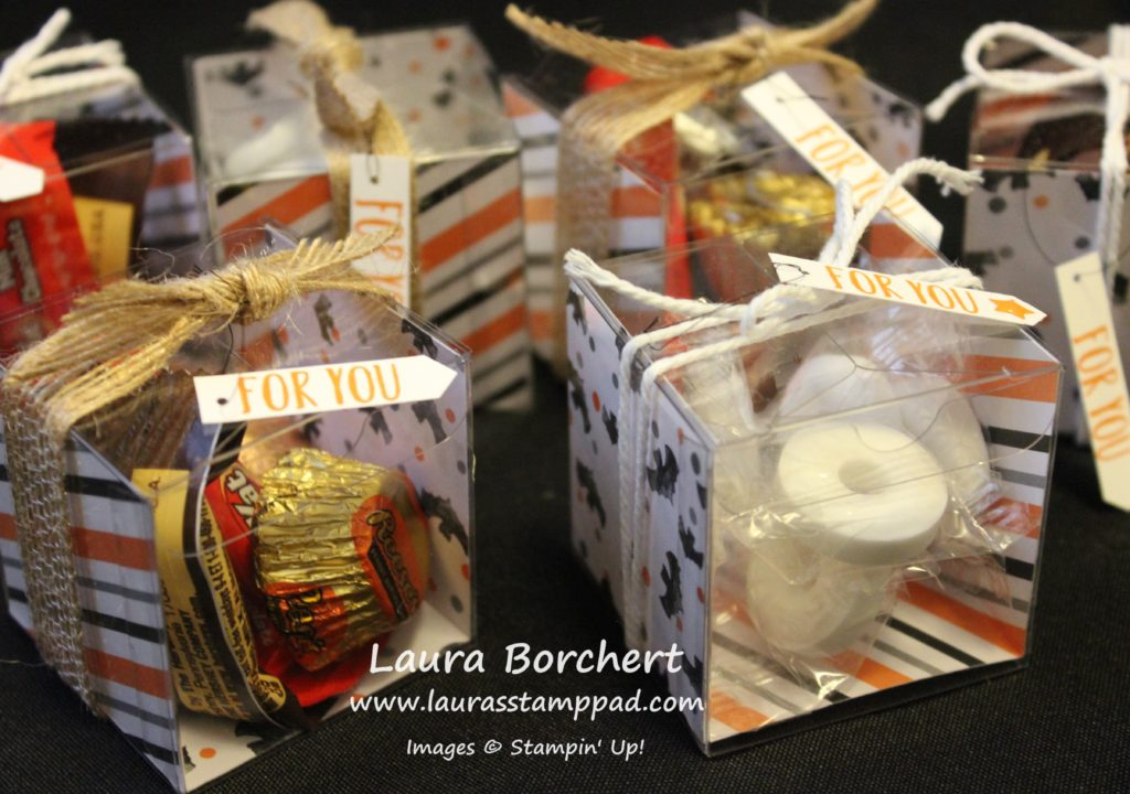 6 Treat Boxes in One Sheet Wonder, www.LaurasStampPad.com