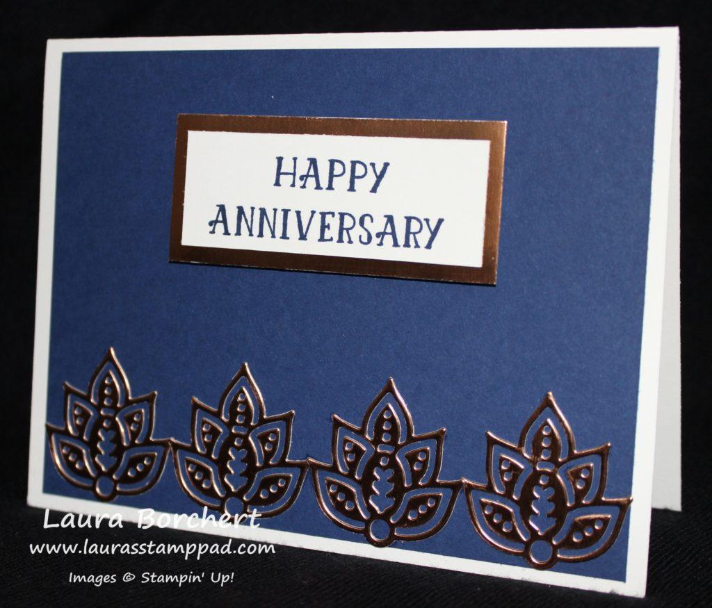 Copper Foil, www.LaurasStampPad.com