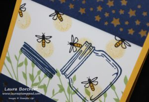 Lightening Bugs, www.LaurasStampPad.com