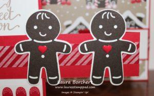 Gingerbread Men, www.LaurasStampPad.com