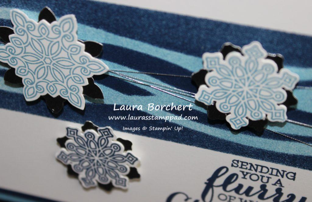 Snowflakes, www.LaurasStampPad.com