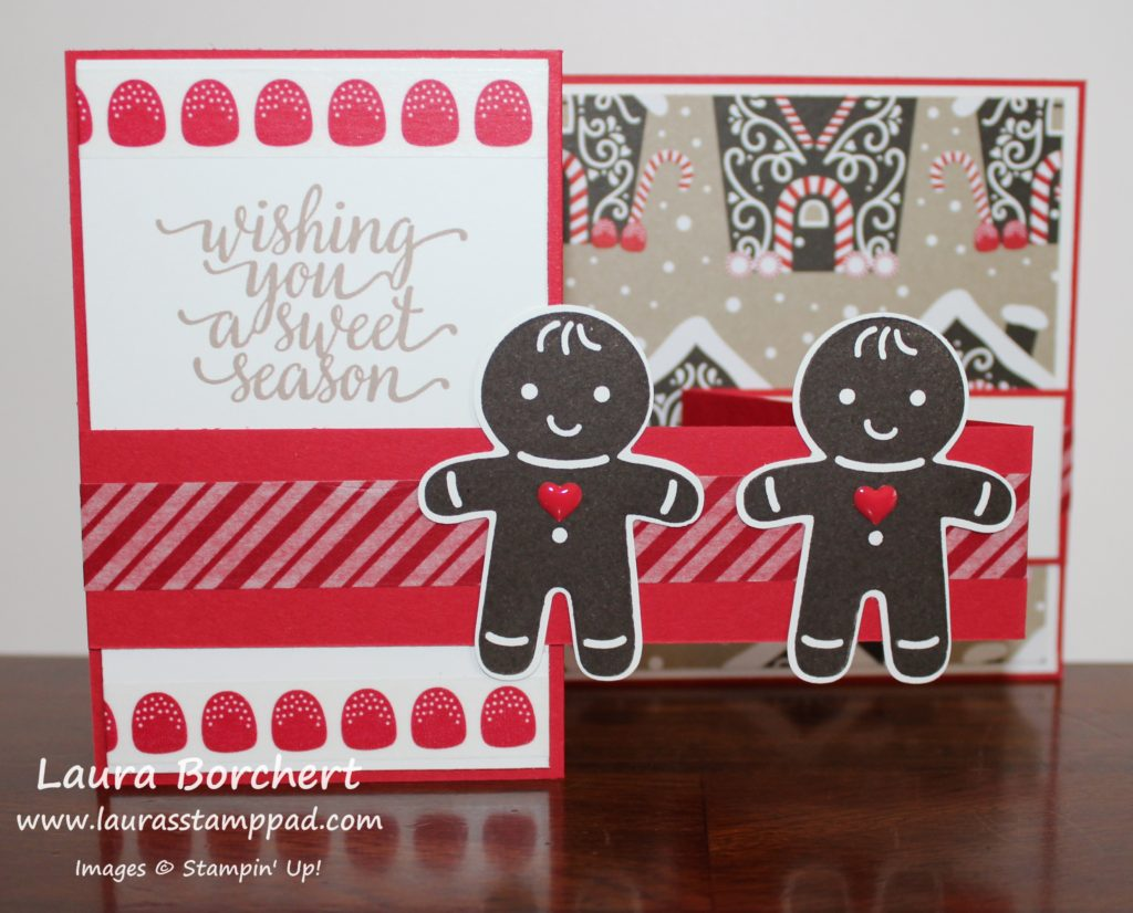 Candy Cane Lane, www.LaurasStampPad.com