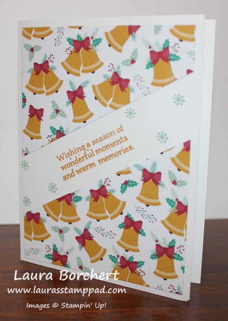Christmas Bells, www.LaurasStampPad.com
