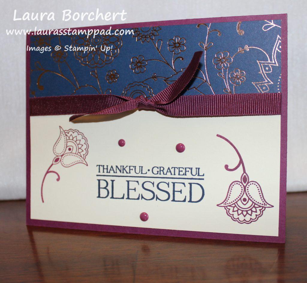 Copper Designer Paper, www.LaurasStampPad.com
