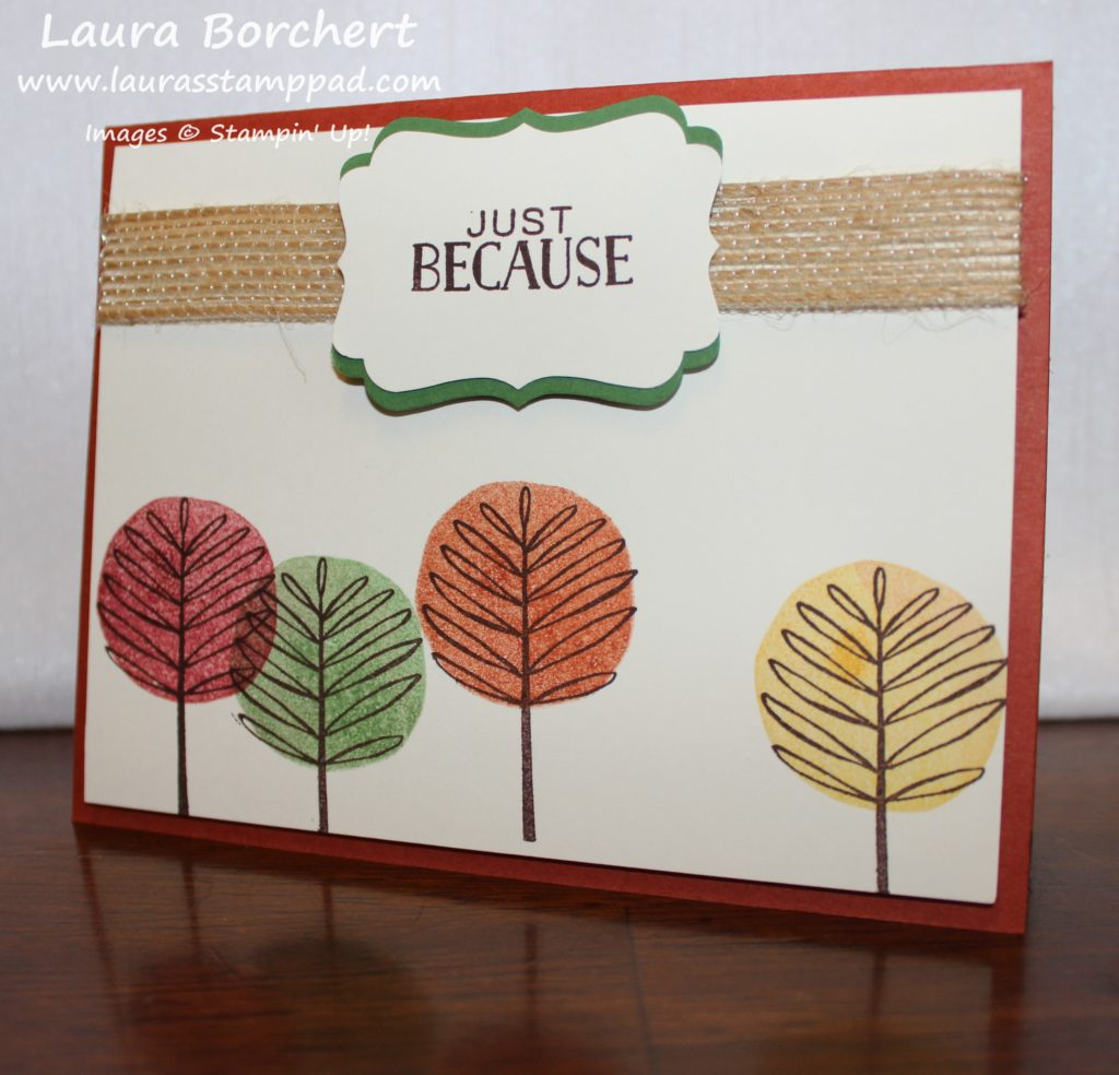 fall-trees, www.LaurasStampPad.com