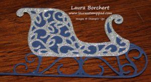 glimmer-sleigh, www.LaurasStampPad.com