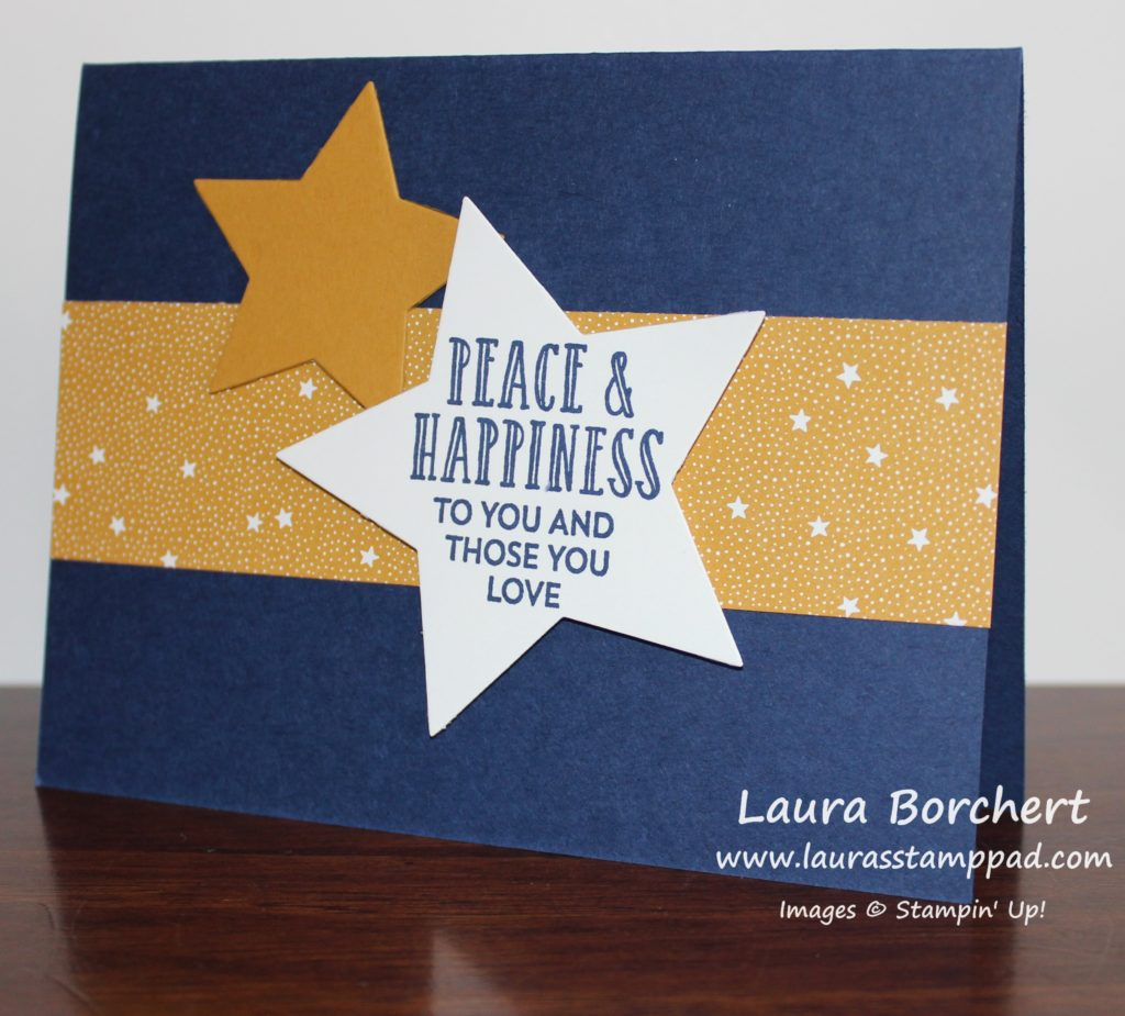 Peace & Happiness, www.LaurasStampPad.com
