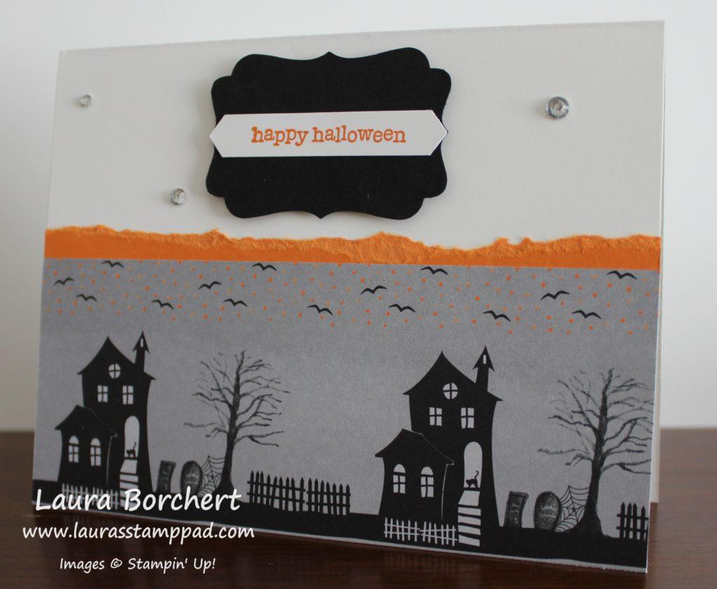 spooky-houses, www.LaurasStampPad.com
