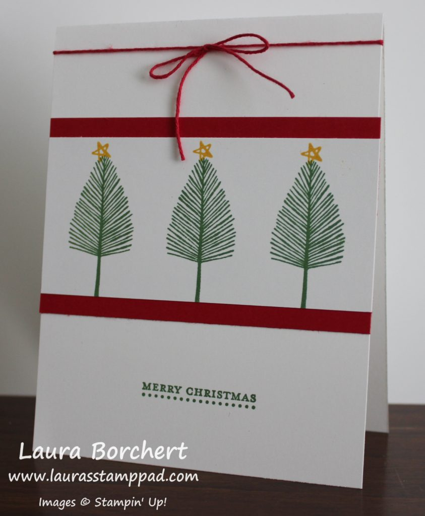 three-little-trees, www.LaurasStampPad.com