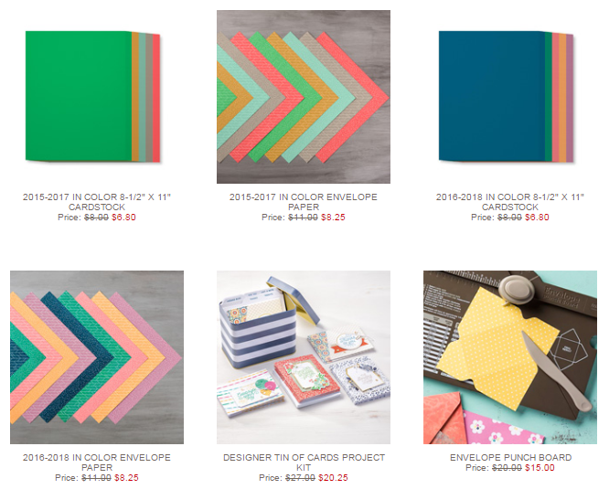 world-cardmaking-sale-items, www.LaurasStampPad.com