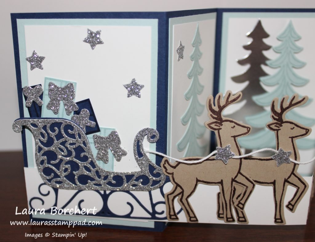 Presents in the Sleigh, www.LaurasStampPad.com