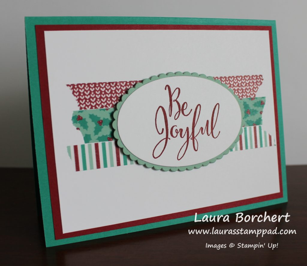 be-joyful-washi-tape, www.LaurasStampPad.com