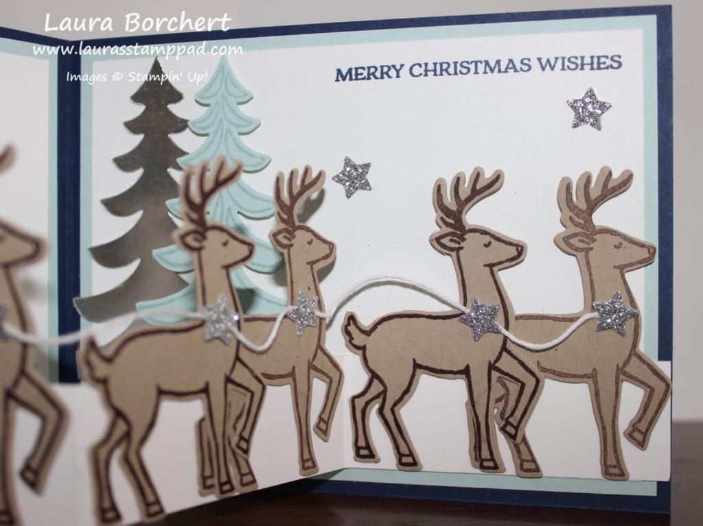 Santa's Reindeer, www.LaurasStampPad.com