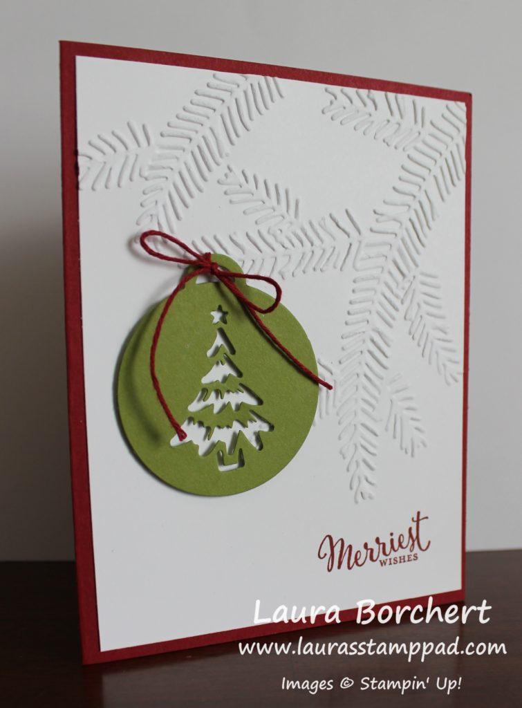 Tree Ornaments, www.LaurasStampPad.com