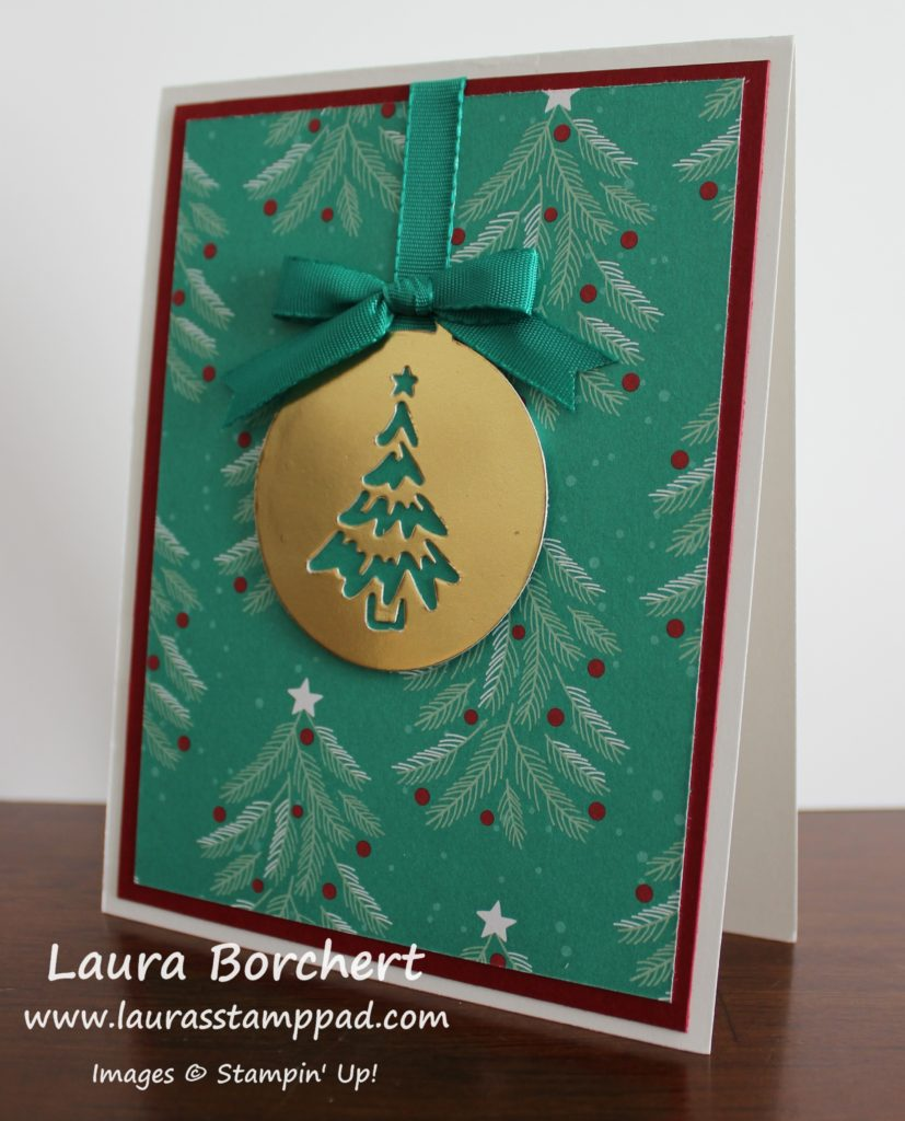 golden-ornament, www.LaurasStampPad.com