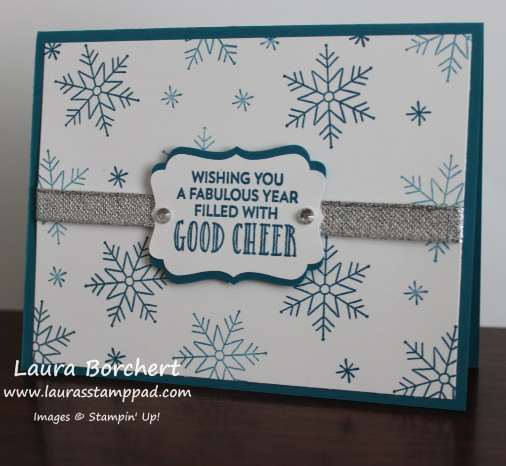 Good Cheer, www.LaurasStampPad.com