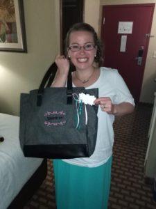Stampin' Up Bag, www.LaurasStampPad.com