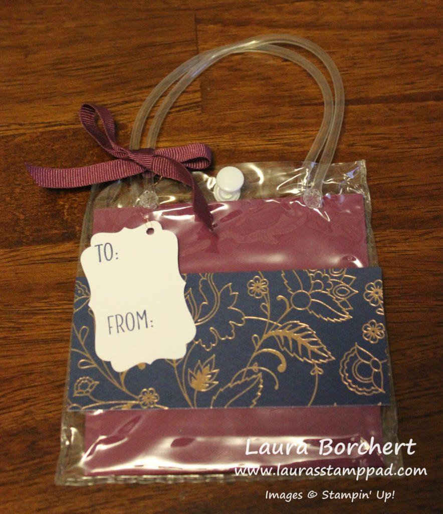 navy-copper-bags, www.LaurasStampPad.com