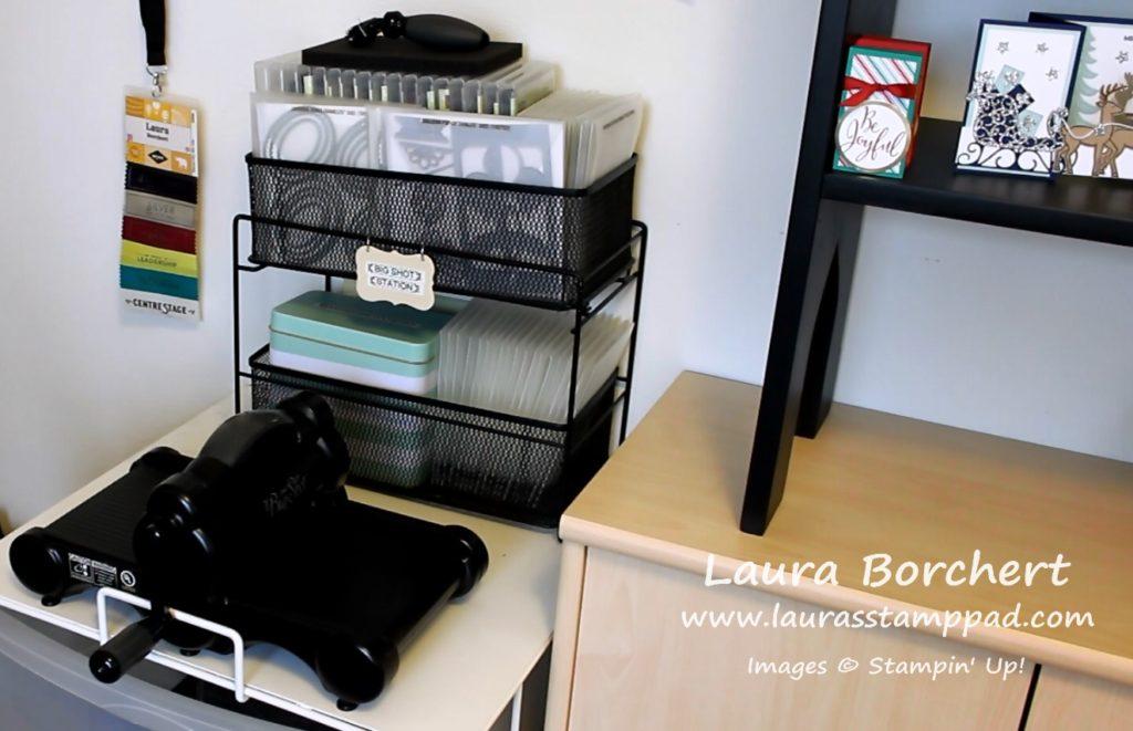 Big Shot Station, www.LaurasStampPad.com