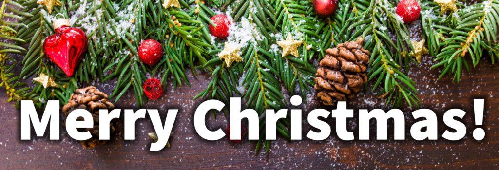 ChristmasBanner, www.LaurasStampPad.com