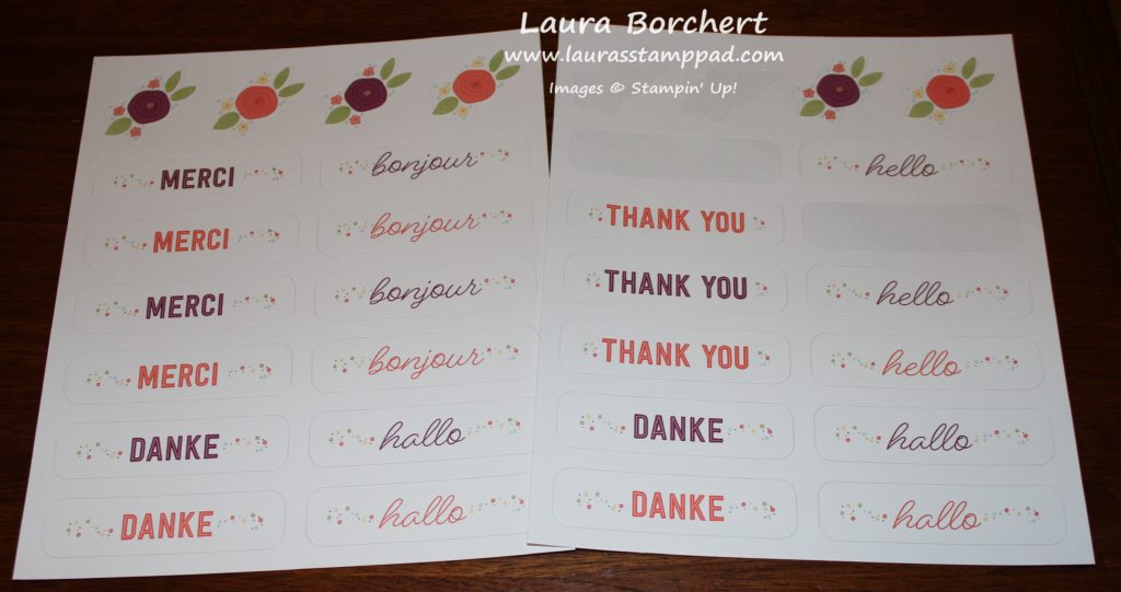 Decoration Pocket Cards, www.LaurasStampPad.com