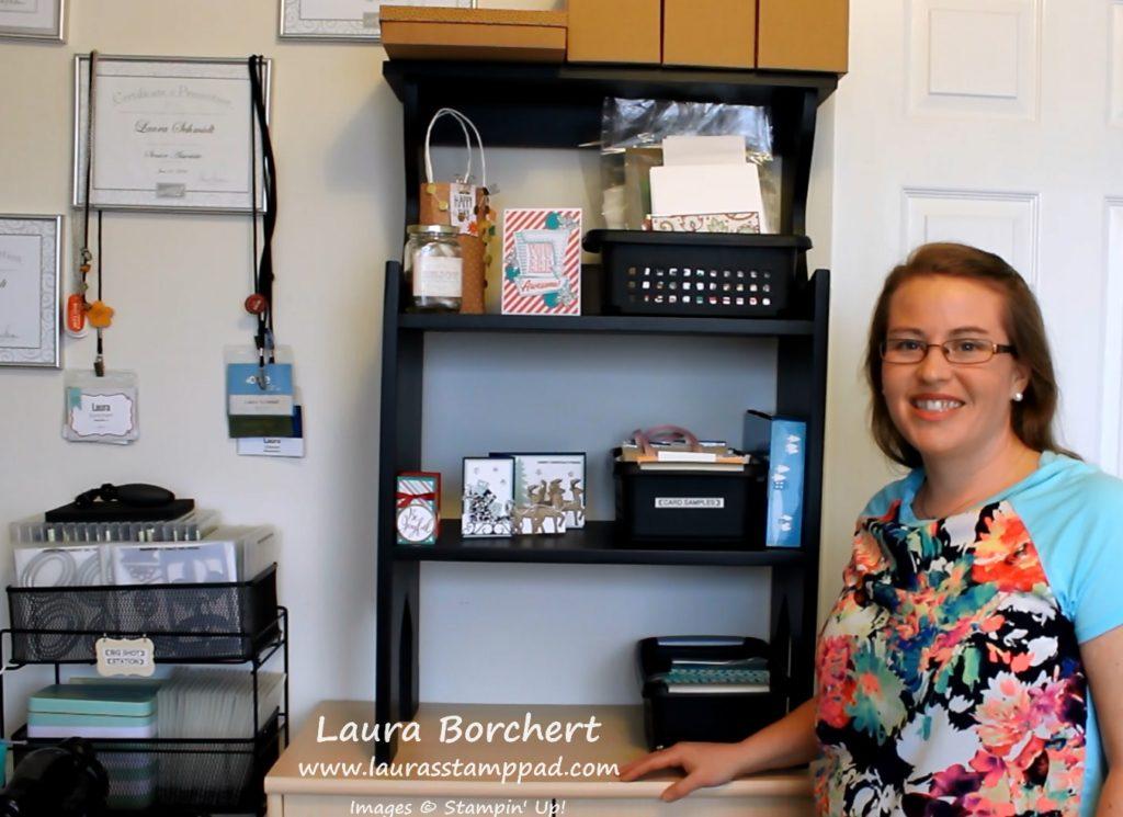 Display Shelf, www.LaurasStampPad.com