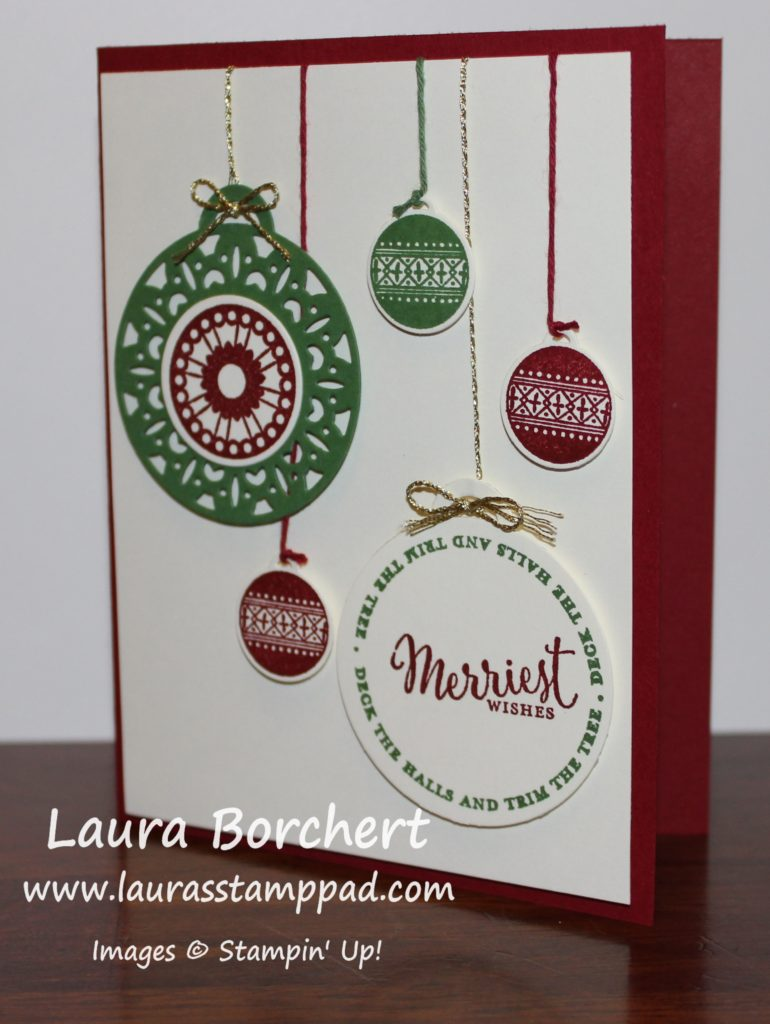 All this Ornaments, www.LaurasStampPad.com