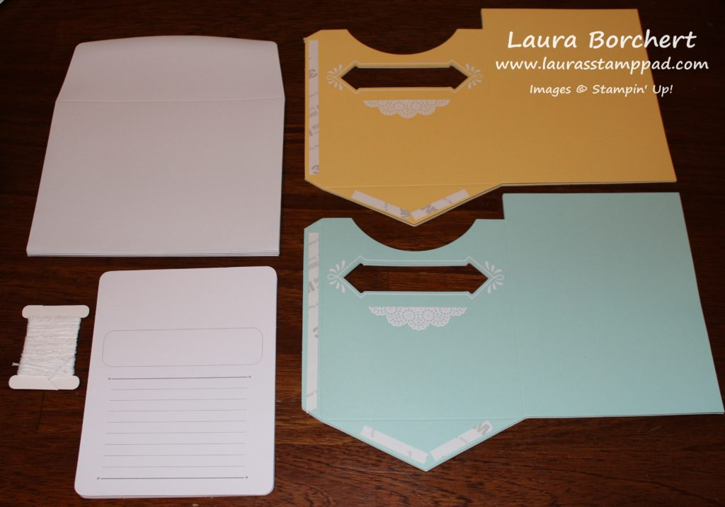 Pocket Card Project Kit, www.LaurasStampPad.com