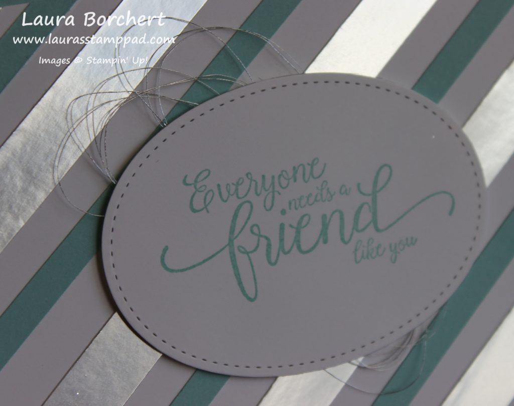 A Friend Like You, www.LaurasStampPad.com