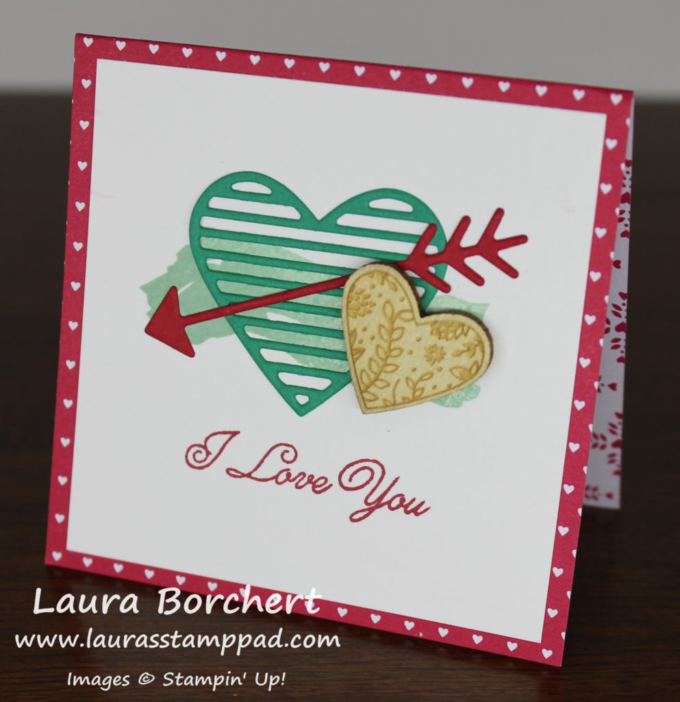 I love you, www.LaurasStampPad.com