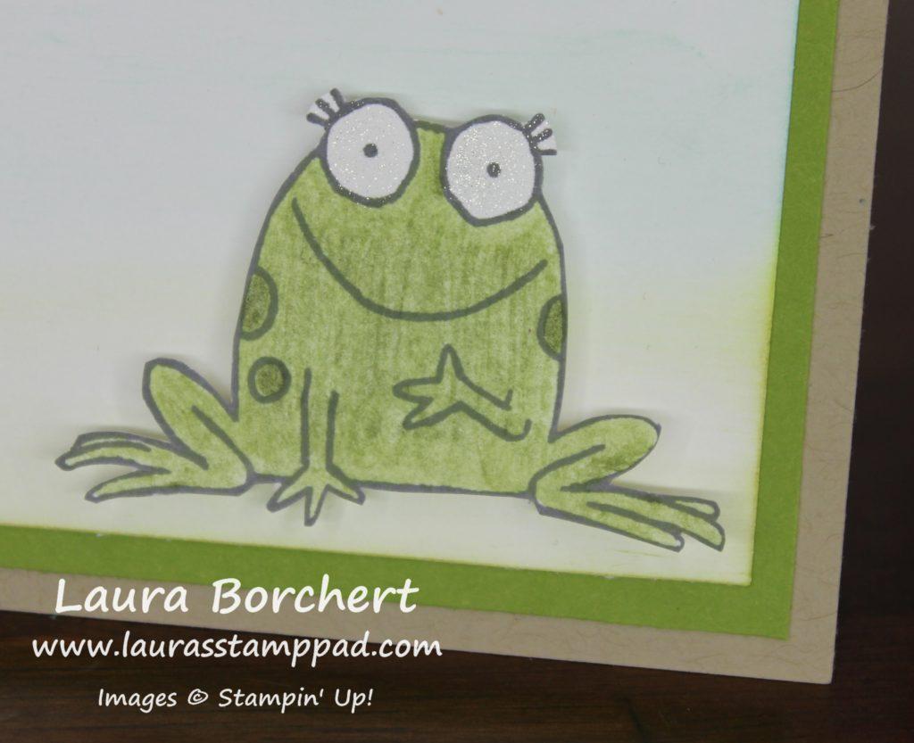 Lil Froggy, www.LaurasStampPad.com