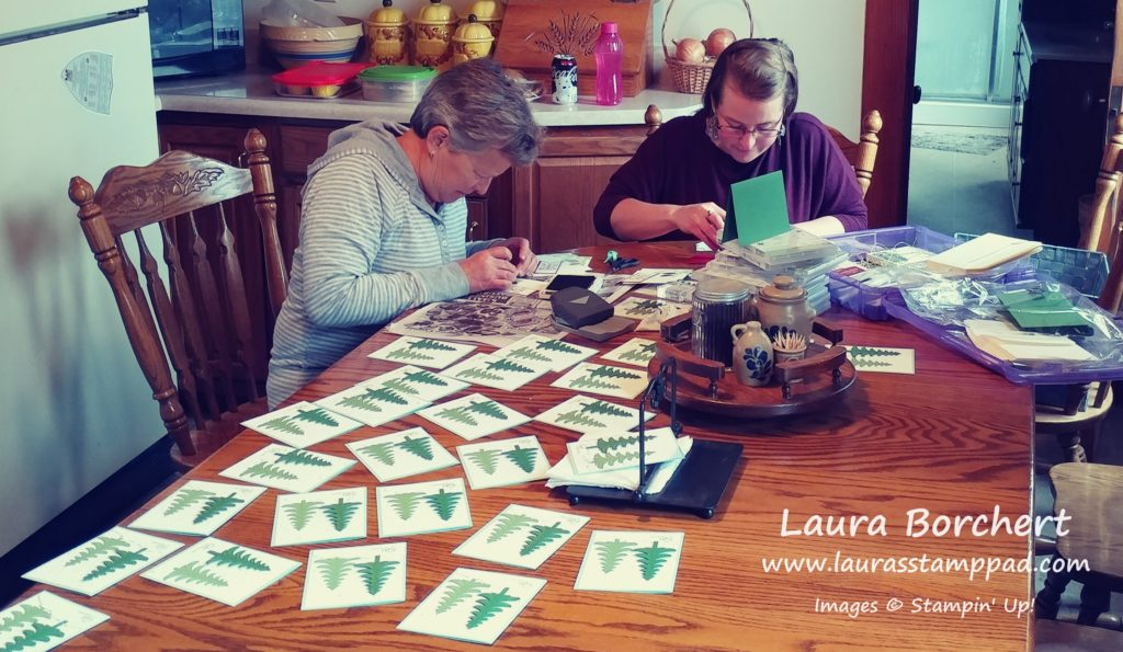 Crafting with Mom, www.LaurasStampPad.com