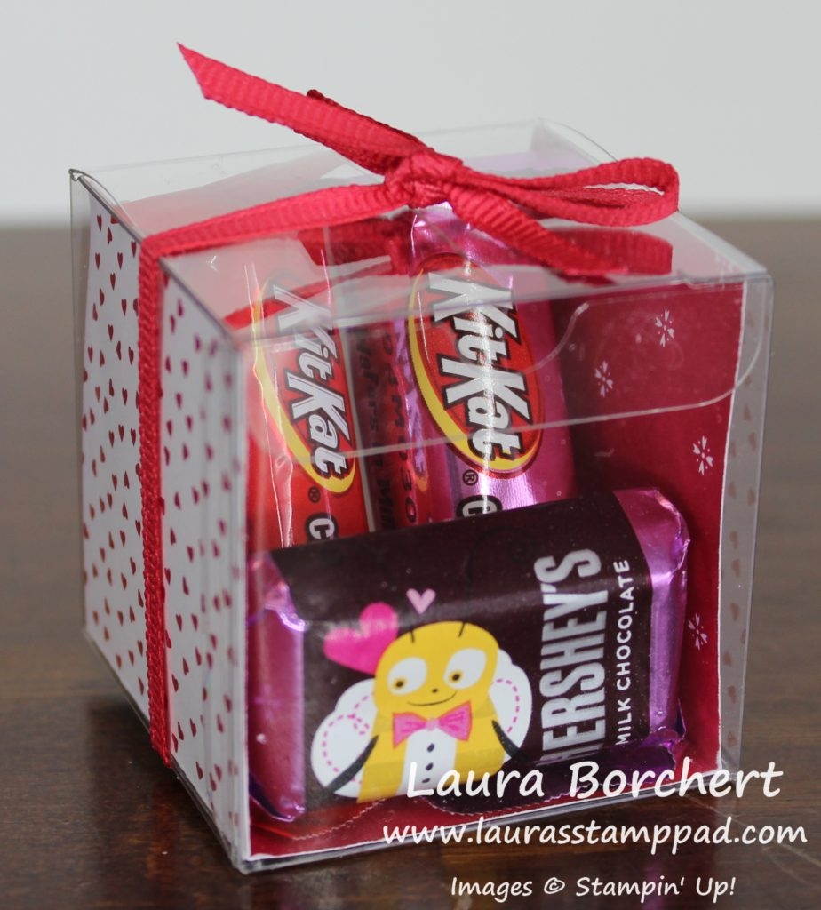 Clear Treat Box, www.LaurasStampPad.com