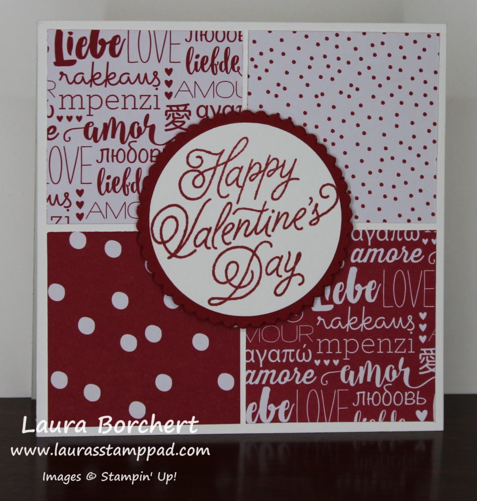 Happy Valentine's Day, www.LaurasStampPad.com