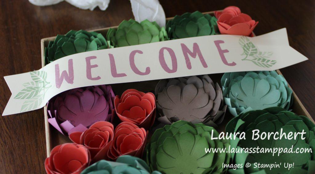 Welcome Garden, www.LaurasStampPad.com