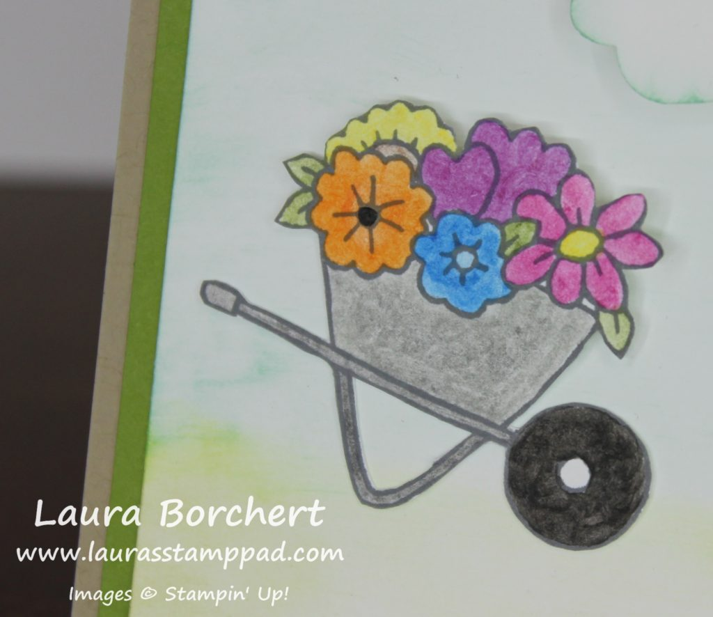 Wheelbarrow, www.LaurasStampPad.com