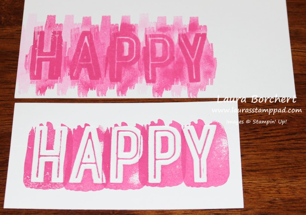 Double Happy, www.LaurasStampPad.com