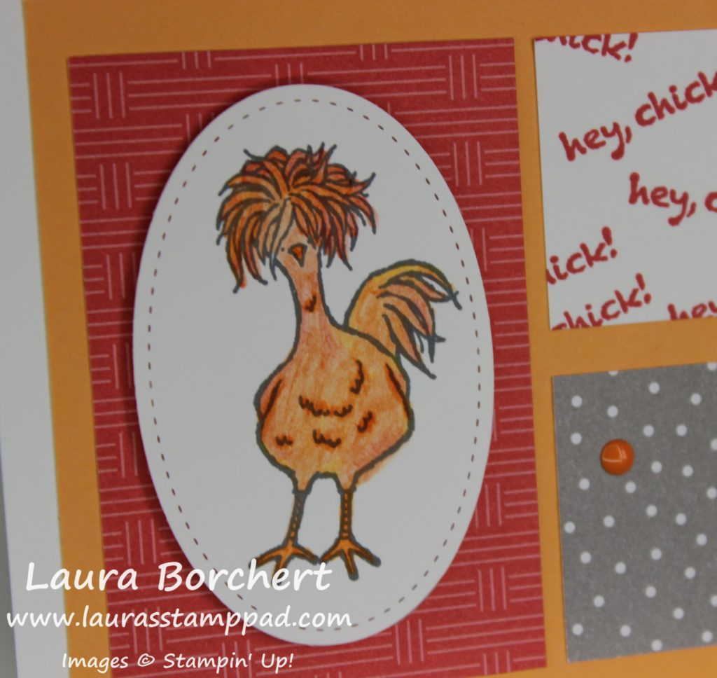 Crazy Chicken, www.LaurasStampPad.com