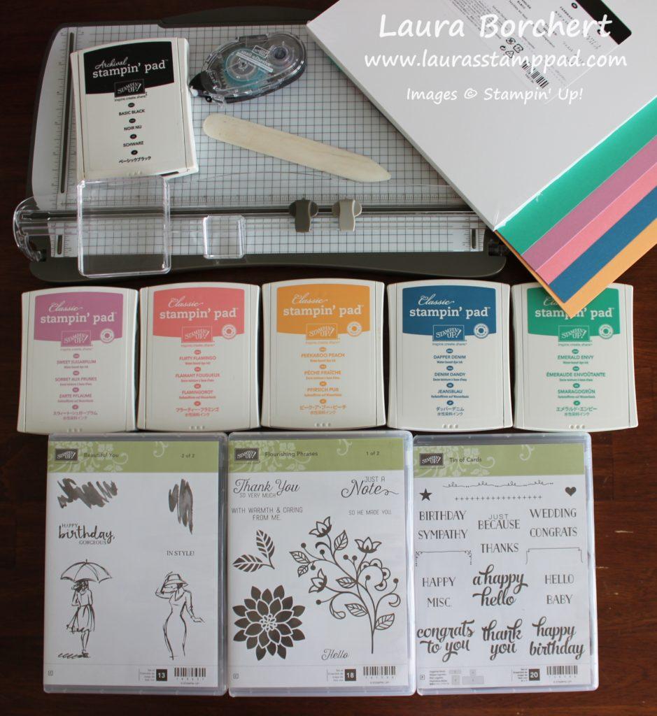 New Stamper Starter Kit, www.LaurasStampPad.com