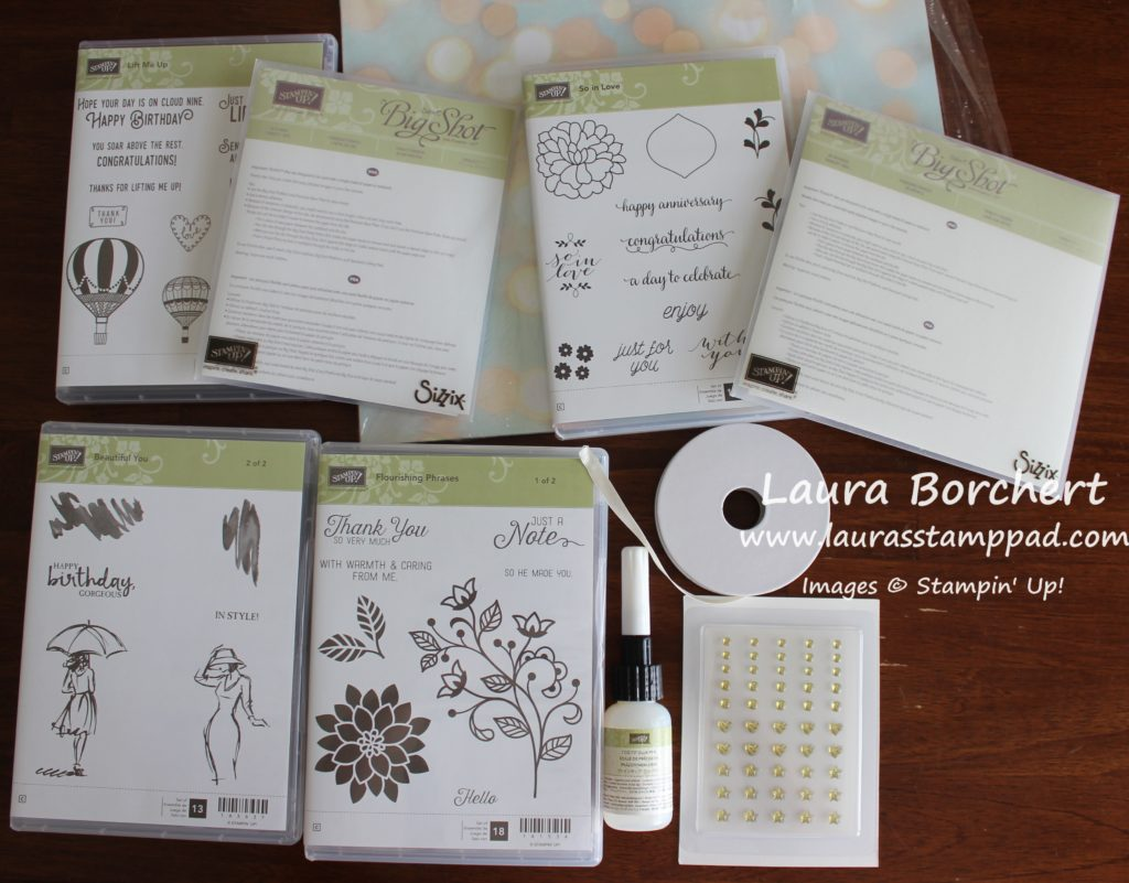 My Picks for the Stampin' Up Starter Kit, www.LaurasStampPad.com