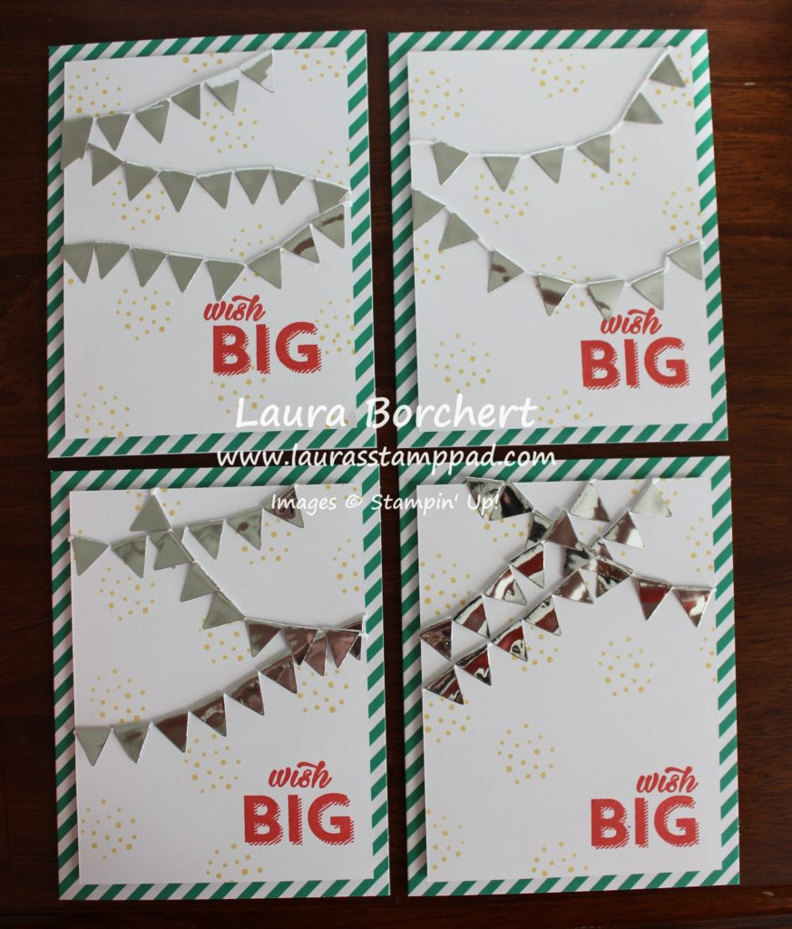 Wish Big, www.LaurasStampPad.com